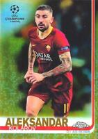 2018-19 Topps Chrome UEFA Champions League - Base Gold Parallel /50 - You Pick