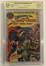 Superman's Pal Jimmy Olsen #145 CBCS 7.5 signed by JOE SIMON - not CGC not SS