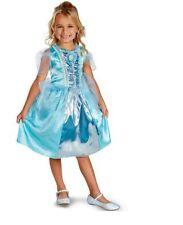 Youth Girl Costume (Disguise) Disney Princess Cinderella Costume  Sz M (7-8) NEW