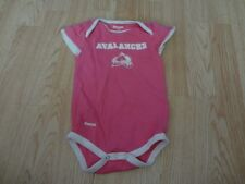 Infant/Baby Girls Colorado Avalanche 18 Mo Creeper One-Piece (Pink) Reebok