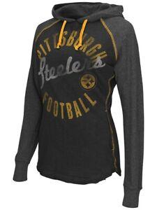 Pittsburgh Steelers Womens Play Clock Hooded Sweatshirt(XS)
