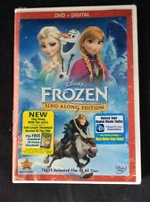 Disney Frozen SING ALONG (with Lyrics) EDITION DVD+DIGITAL - NEW! & SEALED!