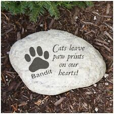 Personalized Pet Gifts Engraved Cat Memorial Garden Stone Pgl582214