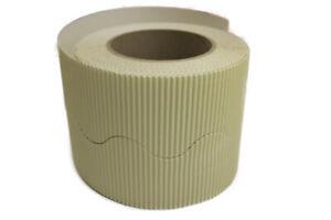 Border Rolls - Scalloped Wavy Edge Display - Corrugated Card - Choose 28 Colours