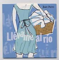 JUAN PERRO Rare Cd Single  LLEVAME AL RIO 1 track  2000