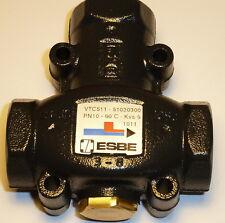 """Ladeventil  ESBE VTC511 - Rücklaufanhebung 1"""" IG  60°"""