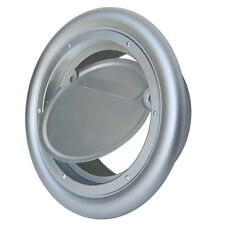 """NEW! SEIHO ALUMINUM DRYER VENT 4"""" with BD FLAPPER DAMPER without HOOD - SB4"""