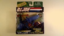 GI JOE COBRA 3 3/4 2004 Cobra Air Assault w/ Blue Sand Viper COMPLETE MOC