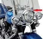 Drag Specialties 7 inch Chrome Steel Headlight Visor For Harley
