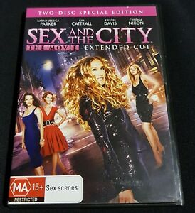 Sex And The City The Movie - DVD - Pre Owned - VGC - 2 Disc Special Edition