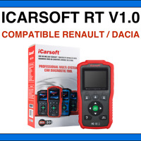 iCarsoft RT V1.0 - Valise Diag PRO OBD2 pour Renault + Dacia