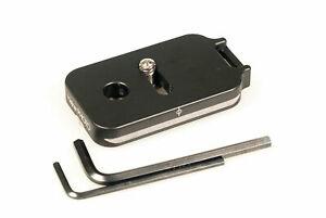 2.375 plate QD socket  Arca Swiss Kirk Markins Wimberley Foba Benro rrs Acratech