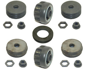 Husqvarna OEM Roller Repair Kit fits K970, K970II, K970III Rings Saws 506178304