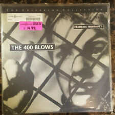 Laserdisc The 400 Blows Criterion #173 French with English Subtitles 1959 B+W