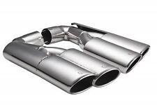 Ulter Sport Exhaust PORSCHE Cayenne 06-10 CHROME TAIL PIPE TRIM TIP END MUFFLER