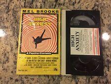 HIGH ANXIETY MAGNETIC VIDEO CORP MVC BETA BETAMAX TAPE 1977 MEL BROOKS COMEDY!