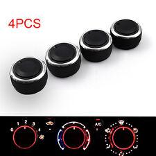 4PCS AC Car Heat Control Button Knob Aluminum Panel Switch for Toyota Tacoma2013