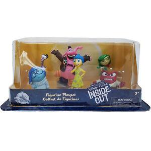 Disney Store Inside Out 6 Piece Figure Play Set Figurine Bing Bong Joy Pixar NEW