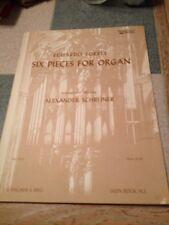 Eduardo Torres Six Pieces for Organ Arranged By Alexander Schneider no. 9734