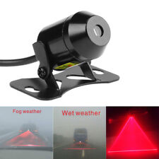 12V-24V Motorcycle Car LED Laser Fog Light Tail Rear Anti-Collision Warning Lamp