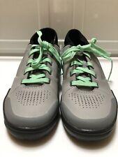 Shimano SH-GR7W Women's Biking Shoes Grey Mint Enduro Trail Quick Dry Size 8.5