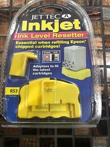 Jet Tec Inkjet In Level Resetter R53 Essential When Refilling Epson Chipped Cart