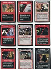Star Wars CCG Reflections II Complete  26 Card Combo Set