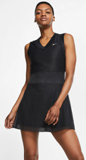 Nike Dri Fit - Size XL - Court Slam Women's Tennis Dress - Black