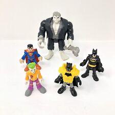 Imaginext Batman Solomon Grundy w/ Pipe Joker Superman DC Super Friends Figures