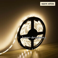 5m 3528 SMD Yellow 300 LEDs Waterproof Flexible Strip Lighting12v DIY Party Car