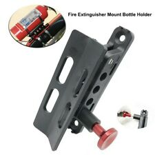 Fire Extinguisher Bracket Holder Kit Mount Roll Cage for Car UTV RZR Can Am Jeep
