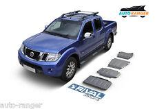 Nissan Navara / Pathfinder Unterfahrschutz SET Aluminium 4mm Skid plates KIT NEW