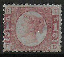 SG48. 1/2d.Rose-Red Plate 9. Re-gummed. Good Colour & Clear Plate Nos.  Ref:0741