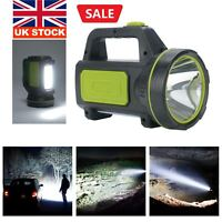 300000LM LED Searchlight Spotlight USB Rechargeable Hand Torch Work Light Lamp