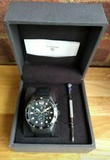 Elliot Brown The Bloxworth Men Chronograph Watch Black Leather Strap RRP:£525
