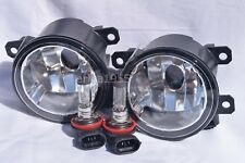 Glass Fog Driving Light Lamps w/2 Light Bulbs One Pair For 2015-2020 Renegade