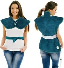 Heating Pad for Neck and Shoulders Electric Heat Wrap for Back Pain Relief