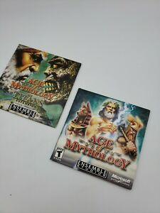 Age of Mythology PC (2002) With Titans Expansion Computer Game With CD Keys