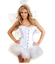 Daisy corsets Women's 4 Piece Flirty Fairy Wings Costume, 2X