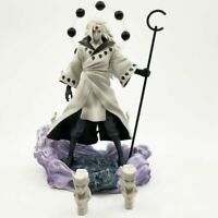 Anime Naruto Shippuden Uchiha Madara Pvc Action Figure Figurine Toy Gift