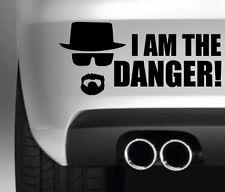 I AM THE DANGER HEISENBERG CAR BUMPER STICKER FUNNY DRIFT JDM 4x4 HONDA FORD
