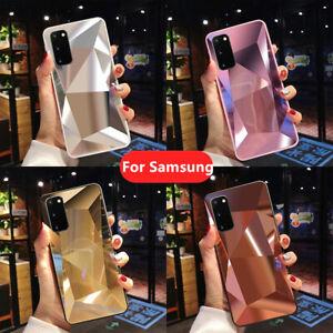 Hybrid Mirror 3D Diamond Case Cover For Samsung Galaxy A52s A22 A52 A42 5G