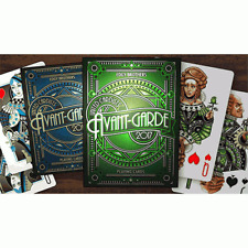 Mazzo di carte Avant-Garde United Cardists 2017 Playing Cards (Verde)