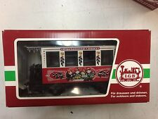 LGB 35078 Christmas 2007 Christmas Passenger Coach New in Box!