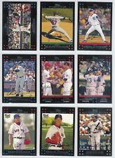 2007 Topps Baseball Red Back Set