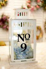 Wedding Table Numbers 1-10,15, 20, or 25 Custom Centerpiece Vinyl Sticker Decals