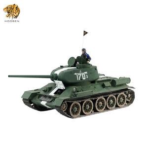 HOOBEN 1/10 T-34/85 Soviet Medium Tank T3485 Upgrade Brushless Version RTR 6774