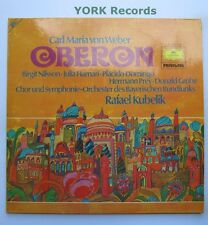 DG 2726 052 - WEBER - Oberon NILSSON / HAMARI / DOMINGO - Ex Double LP Record