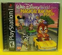 Disney World Quest: Magical Racing  Playstation 1 2 PS1 PS2 Game Working 1 Owner