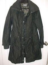 FIRETRAP PADDED COAT DARK COPPER S RRP £120 RAIN COAT WOMENS LADIES JACKET BROWN